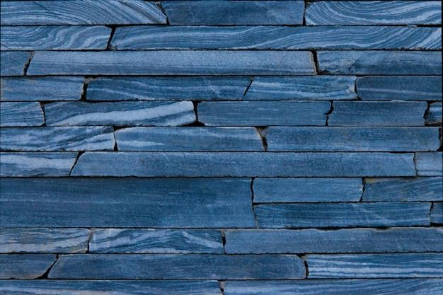 Texture de pierre de couleur bleue