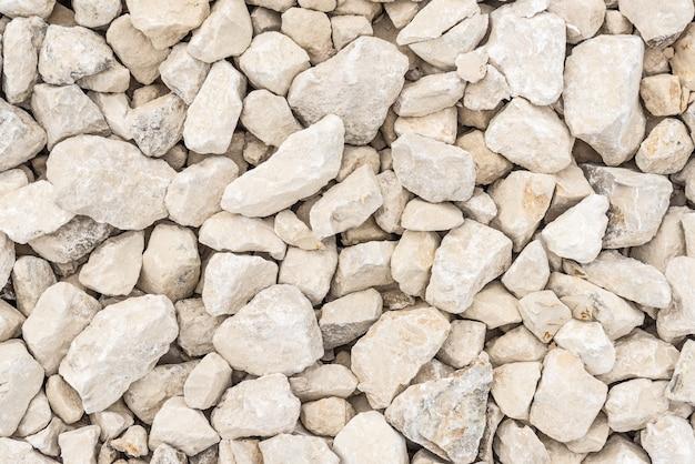 Texture de pierre grise concassée