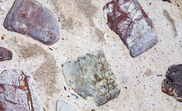 Texture de pierre de mer
