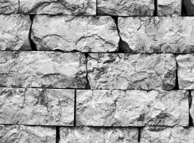 Texture de pierre noire