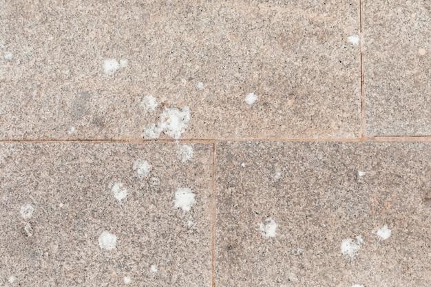 Texture de la pierre