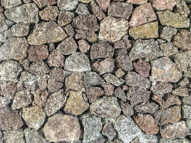 Texture de pierres brutes