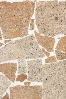 Texture de pierres empilées