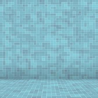 Texture piscine fond de carreaux de mosaïque. fond d'écran, bannière, toile de fond.
