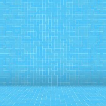 Texture piscine fond de carreaux de mosaïque.