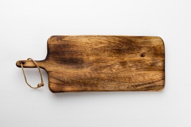 Texture de planche de bois ancienne isolée avec espace de copie pour la conception ou le travail
