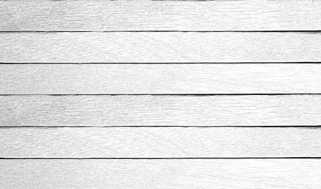 Texture de planche de bois blanc pour le fond.