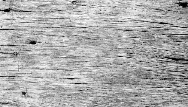 Texture de planche de bois avec filtre noir et blanc