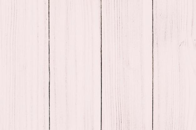 Texture de planche de bois peint rose