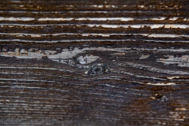 Texture de plancher en bois ancien sombre pour le fond.
