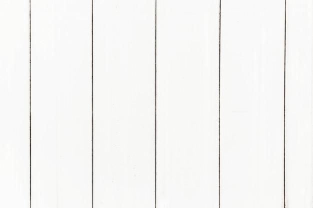 Texture de planches de bois blanc
