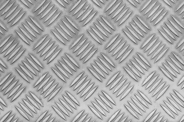 Texture de la plaque de sol en acier inoxydable