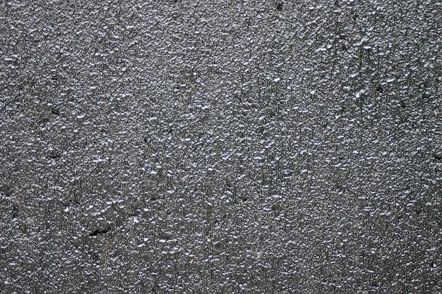 Texture de plâtre inégale.