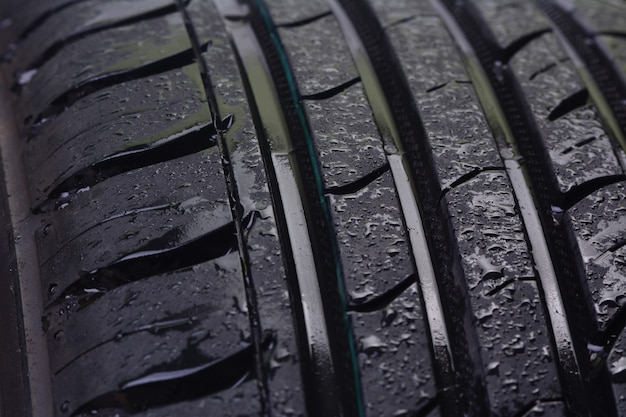 Texture des pneus