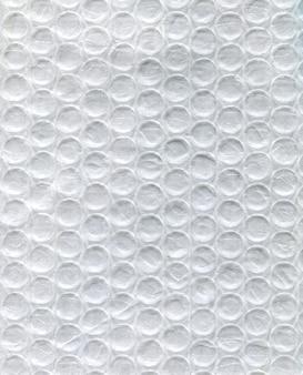 Texture de polyéthylène blanc dans un cercle