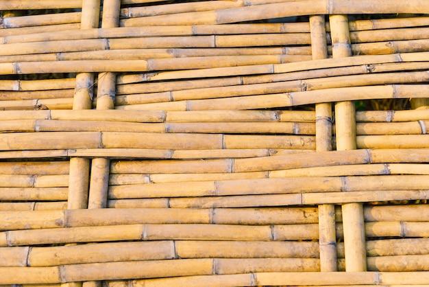 Texture de pont de chemin de marche en bambou