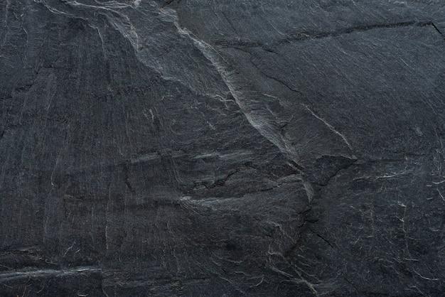 La texture de revêtement en pierre noire contient des lignes de fissure et de pierre appropriées pour le mur ou la surface