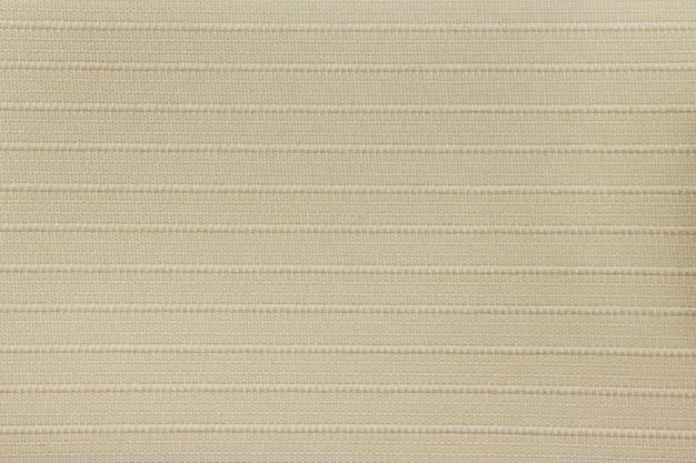 Texture de rideau aveugle en tissu beige