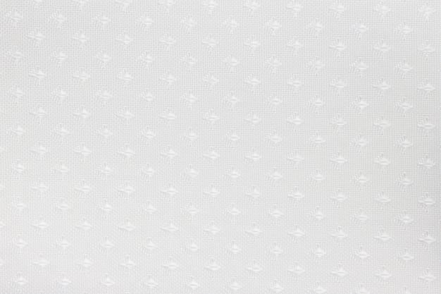Texture de rideau aveugle en tissu blanc