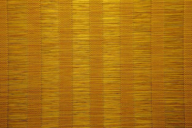 Texture de rideau en bambou. fond de rideau aveugle en bambou