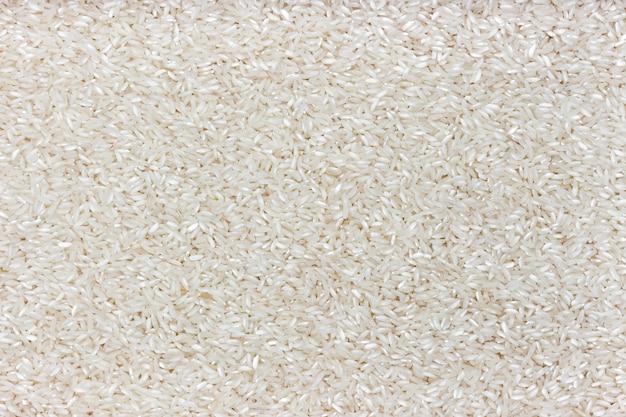 Texture de riz gruau de riz poli