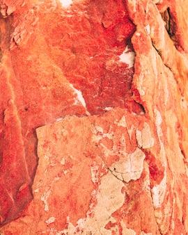 Texture de la roche rouge