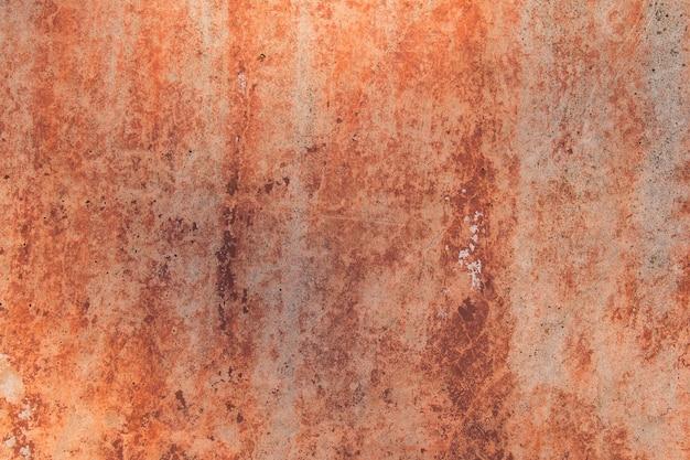 Texture rouillée sur mur de béton
