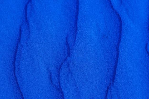 Texture de sable bleu se bouchent, sable martien