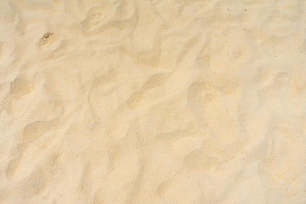 Texture de sable de plage d'été