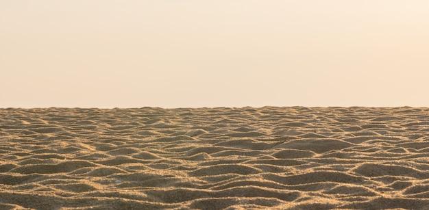 Texture de sable de la plage sur fond blanc