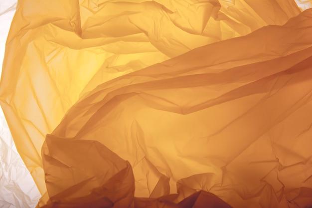 Texture de sac en plastique. contexte.