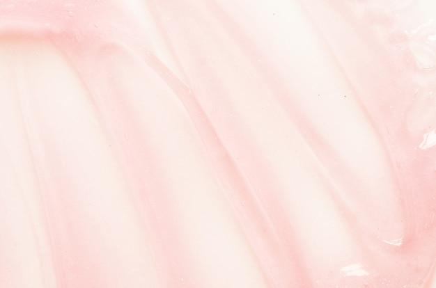 Texture de sérum gel avec micro bulle transparente concept de soins de la peau image