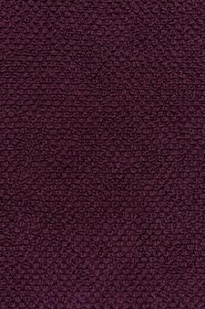 Texture de serviette violette ou fond de tissu de coton