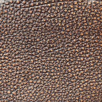 Texture en similicuir marron