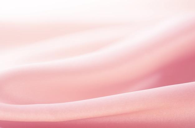 Texture de la soie, bakground, satin luxueux pour abstrait, design et papier peint, style doux et flou, douceur
