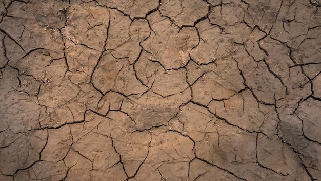 Texture de sol fissuré