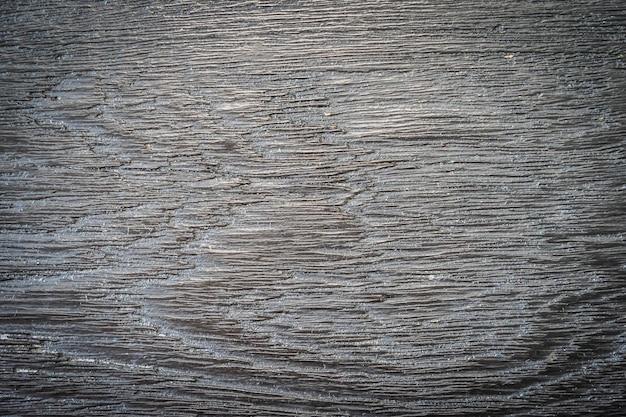 Texture et surface du bois gris et noir