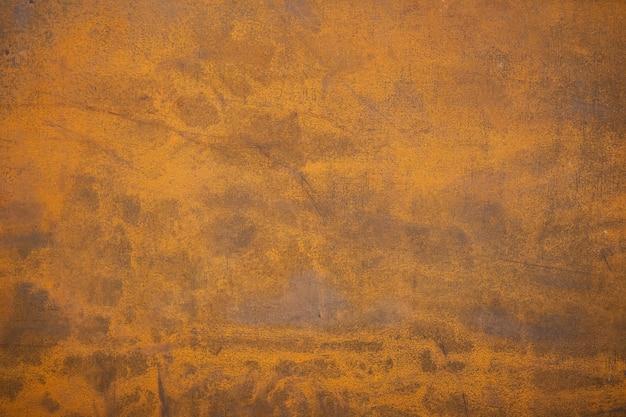 Texture de surface en métal rouillé