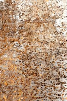 Texture de surface métallique rugueuse