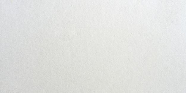 Texture de surface de papier blanc panorama et fond avec espace de copie.