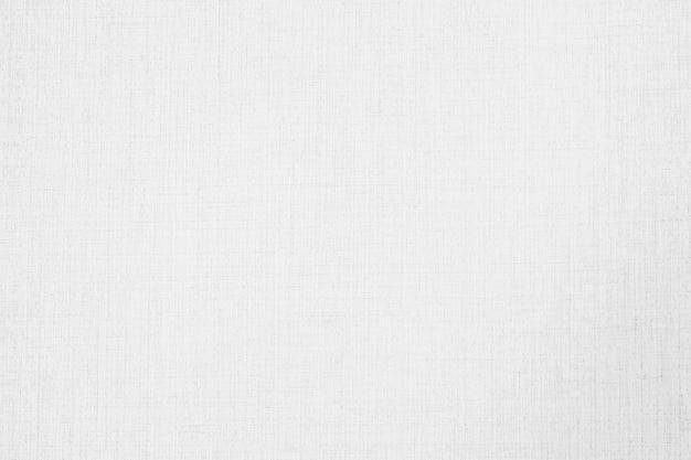 Texture et surface de papier peint en toile abstraite de couleur blanche