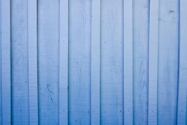 Texture de surface de planche de bois bleu