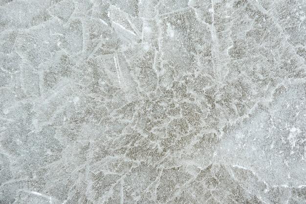 Texture de table de glace