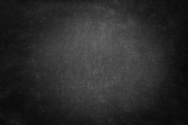 Texture de tableau noir et fond noir, mur de tableau horizontal noir espace copie