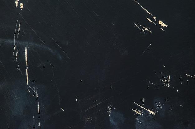 Texture de tableau peint en noir