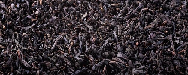 Texture de thé noir