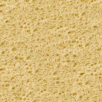 Texture tileable transparente de la surface du pain blanc.