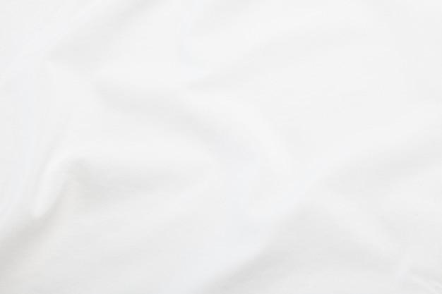 Texture de tissu blanc, fond de tissu