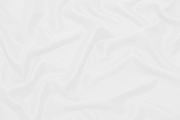 Texture de tissu blanc résumé blanc