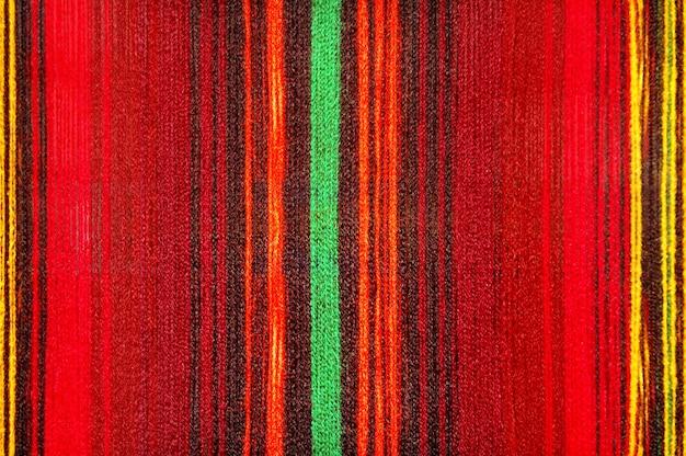 Texture de tissu de canne dépouillé de couleur
